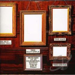 Emerson, Lake, And Palmer - Pictures at an Exhibition CD Cover Art