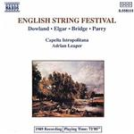 Capella Istropolitana / Leaper - English String Festival CD Cover Art