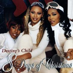 Destiny's Child - 8 Days of Christmas CD Cover Art