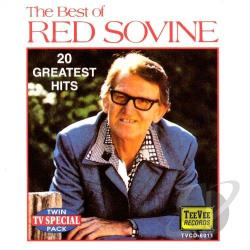 Sovine, Red - Best of Red Sovine CD Cover Art