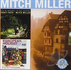 Miller, Mitch - It's So Peaceful in the Country/European Holiday CD Cover Art