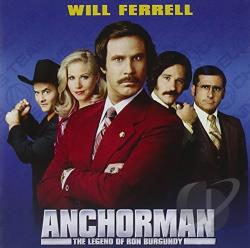 Anchorman: The Legend of Ron Burgundy CD Cover Art