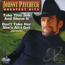 Paycheck, Johnny - Greatest Hits CD Cover Art