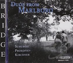 Denk / Kirchner / Levin / Prokofiev / Schubert - Duos from Marlboro CD Cover Art