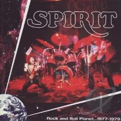 Spirit - Rock and Roll Planet: 1977-1979 CD Cover Art
