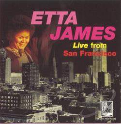James, Etta - Live from San Francisco CD Cover Art