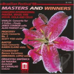 Brazilian Festival '88: Masters and Winners CD Cover Art