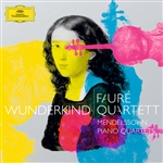 Faure Quartett / Mendelssohn - Wunderkind: Mendelssohn Piano Quartets CD Cover Art