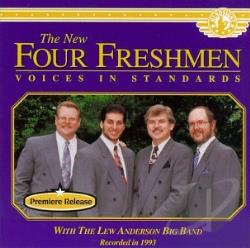 New Four Freshmen - Voices in Standards CD Cover Art