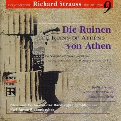 Arnesen, B / Windmuller - Unknown Strauss Vol 9 - Die Ruinen von Athen CD Cover Art
