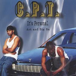 CPT - Its Personal CD Cover Art