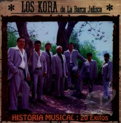 Los Kora - Historia Musical: 20 Exitos CD Cover Art