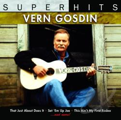 Gosdin, Vern - Vern Gosdin: Super Hits CD Cover Art