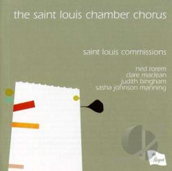 Manning / Rorem - Saint Louis Commissions CD Cover Art
