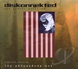 Diskonnekted - Old School Policies CD Cover Art