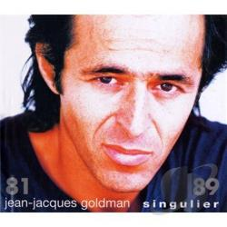 Goldman, Jean-Jacques - Singulier 81-89 CD Cover Art