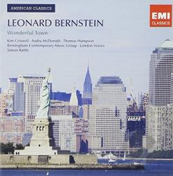 Bernstein: Wonderful Town - Leonard Bernstein: Wonderful Town CD Cover Art
