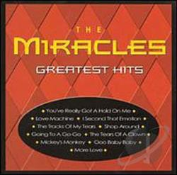 Miracles - Greatest Hits CD Cover Art