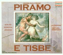 Hasse, J.A. - Johann Adolf Hasse: Piramo E Tisbe CD Cover Art