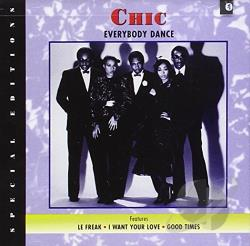 Chic - Everybody Dance CD Cover Art