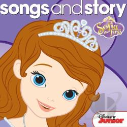 Songs & Story: Sofia the First CD Cover Art