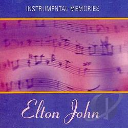 John, Elton - Instrumental Memories CD Cover Art