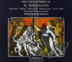 Jommelli: Il Vologeso CD Cover Art