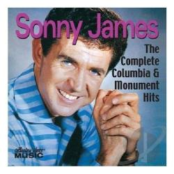 James, Sonny - Complete Columbia & Monument Hits CD Cover Art