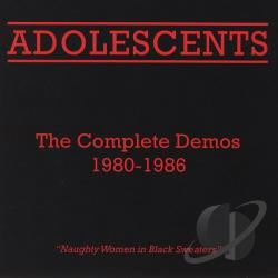 Adolescents - Complete Demos 1980-1986 CD Cover Art
