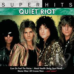 Quiet Riot - Super Hits CD Cover Art