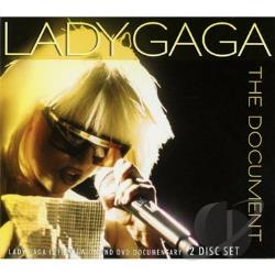 Lady Gaga - Document CD Cover Art