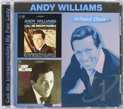 Williams, Andy - Call Me Irresponsible/My Fair Lady CD Cover Art