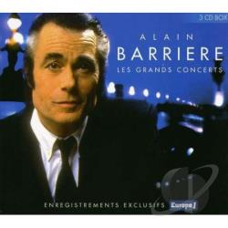 Barriere, Alain - Les Grands Concerts CD Cover Art