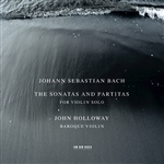 Bach / Holloway - J.S. Bach: The Sonatas and Partitas for Violin Solo CD Cover Art