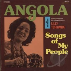 Tchiumba, Lilly - Angola: Songs of My People CD Cover Art