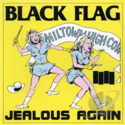 Black Flag - Jealous Again CD Cover Art