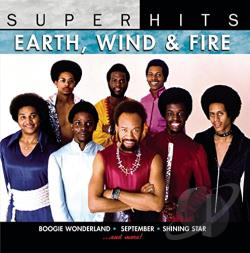 Earth, Wind & Fire - Super Hits CD Cover Art