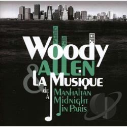 Woody Allen: La Musique de Manhattan a Midnight in Paris CD Cover Art