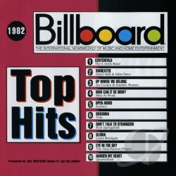 Billboard Top Hits: 1982 CD Cover Art