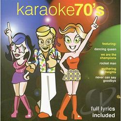 Karaoke - Karaoke 70's CD Cover Art