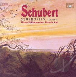 Muti / Wiener Philharmoniker - Schubert: Symphonies CD Cover Art