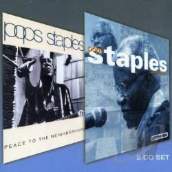 Staples, Roebuck Pops - Peace To The Neighborhood/Father, Father CD Cover Art