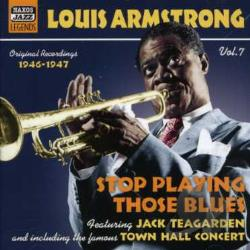 Armstrong, Louis - Vol. 7 - Louis Armstrong CD Cover Art