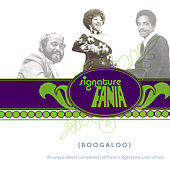 Signature Fania Boogaloo CD Cover Art
