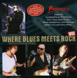 Where Blues Meets Rock - Vol. 8 - Where Blues Meets Rock CD Cover Art