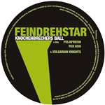 Feindrehstar - Knochenbrechers Ball LP Cover Art