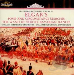 Boughton / English String Orch. - Elgar's Pomp and Circumstance Marches, The Wand of Youth, Bavarian Dances CD Cover Art