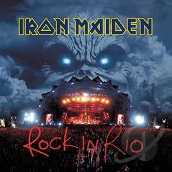Iron Maiden - Rock in Rio CD Cover Art