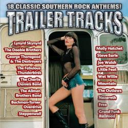 Trailer Tracks: 18 Classic Southern Rock Anthems! CD Cover Art
