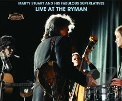 Stuart, Marty - Live at the Ryman CD Cover Art